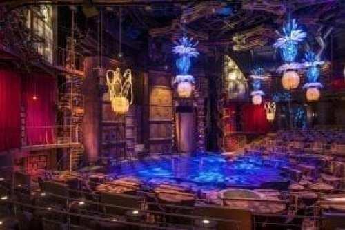 Vista interior del Teatro Cirque du Soleil JOYÀ