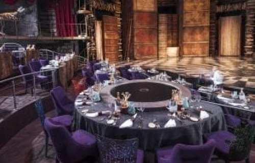 Mesa VIP en el teatro Cirque du Soleil JOYA