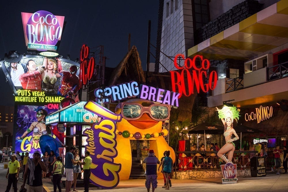 Coco Bongo, el show más visitado de Riviera Maya