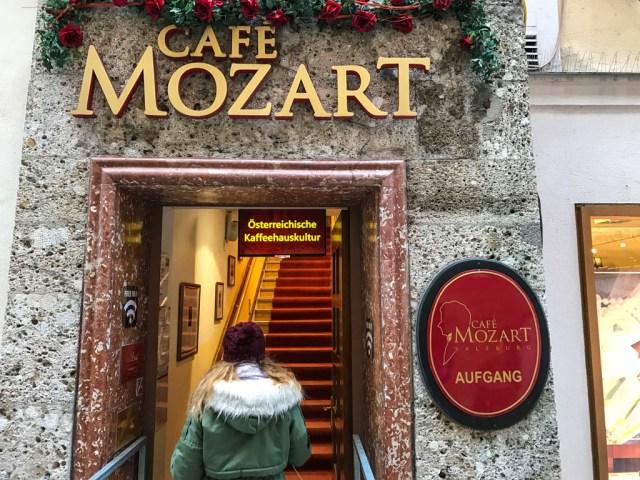 Café Mozart en Salzburgo