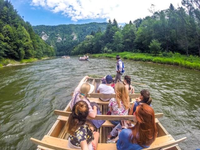 Descenso por el río Dunajec en Zakopane