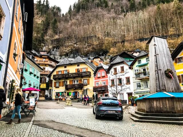casitas de hallstatt en Austria