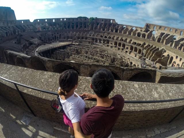 coliseo romano interiores