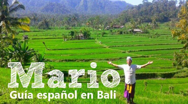 Mario el guía español en Bali