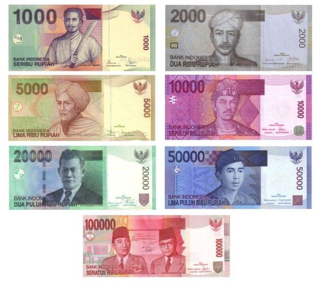 Cambio de la moneda de Bali