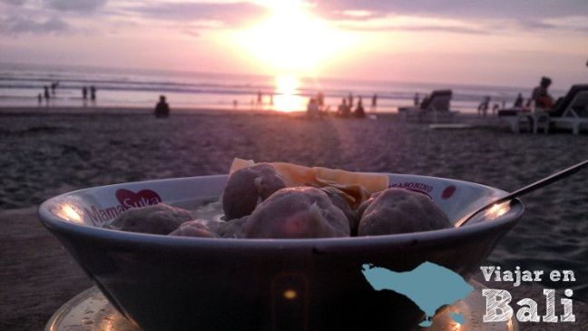 Comer en Bali Bakso