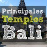 Los principales templos de Bali