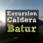 Caldera Batur: Vista volcanes de Bali