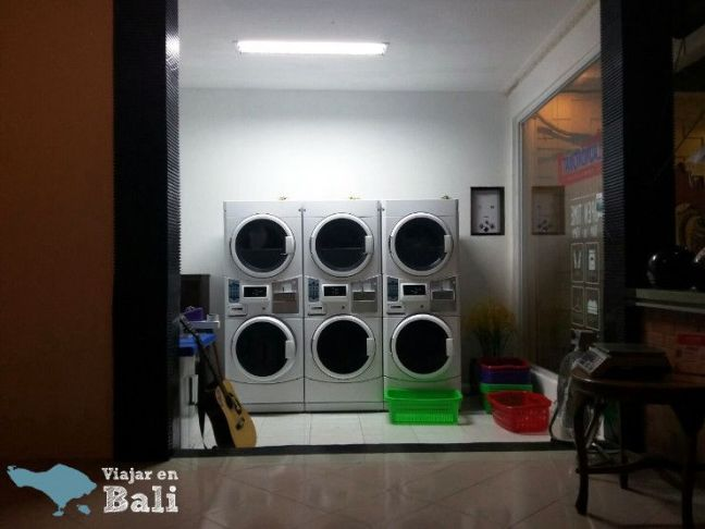 lavar tu ropa en Bali
