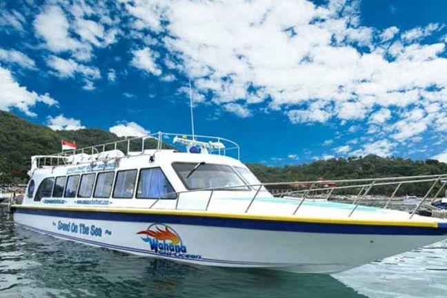 barca rapido a Lombok desde Bali