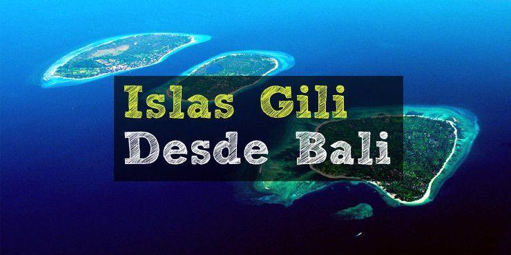Como ir a las islas Gili