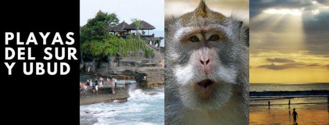 itinerario 3 dias - palyas y ubud
