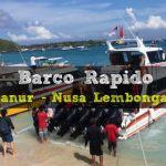 Barco Rapido: Sanur – Nusa Lembongan