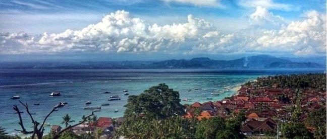 Vista Panoramica Nusa Lembongan