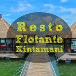 Pescado asado en el Resto Flotante Kintamani