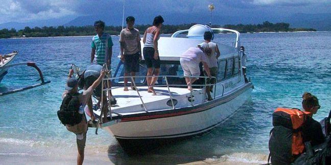 barcos rápidos Amed - Islas Gili