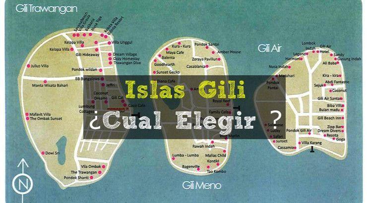 Islas Gili - Cual elegir