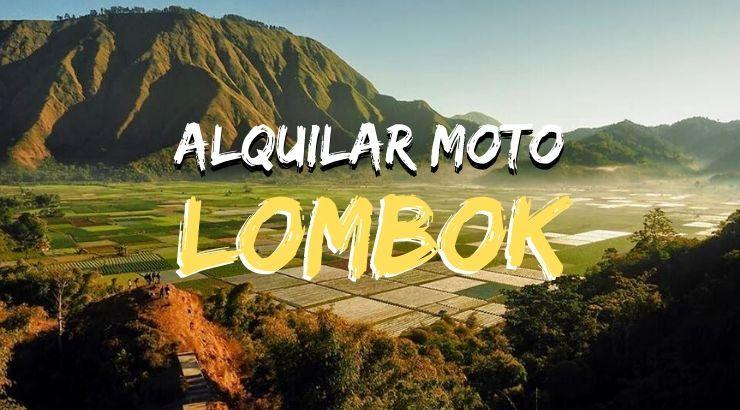 alquilar moto en lombok