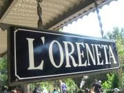 L'Oreneta, estación central