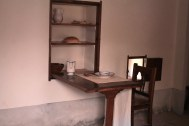 Interior de una celda de los monjes