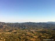 El Pantano de Siurana desde lo alto del Montsant
