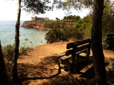 Mirador playa Cap Roig