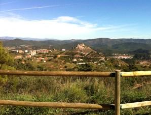 Desde el Vilar Rural la perspectiva del pueblo es estupenda