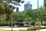 Jardines del Parque Joan Miró