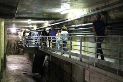 Depósito de regulación de aguas pluviales y residuales