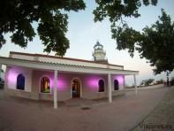 Faro de Calella al atardecer