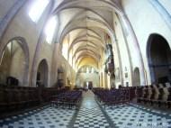 Interior de la Iglesia de Saint Pierre de Moissac