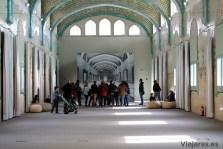 Interior del pabellón de San Rafael