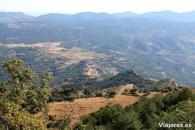 El pueblo de Albarca desde lo alto de la montaña