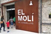 Visita con niños al Molí d'Oli de Vandellòs