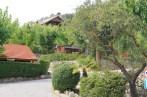 Zonas de bungalows en el camping
