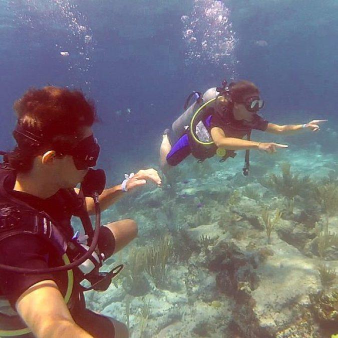 Buceando en Cayo Guillermo