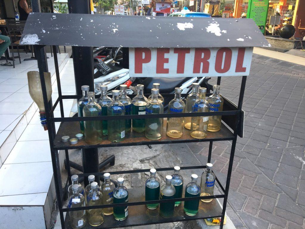 Las gasolineras de Indonesia
