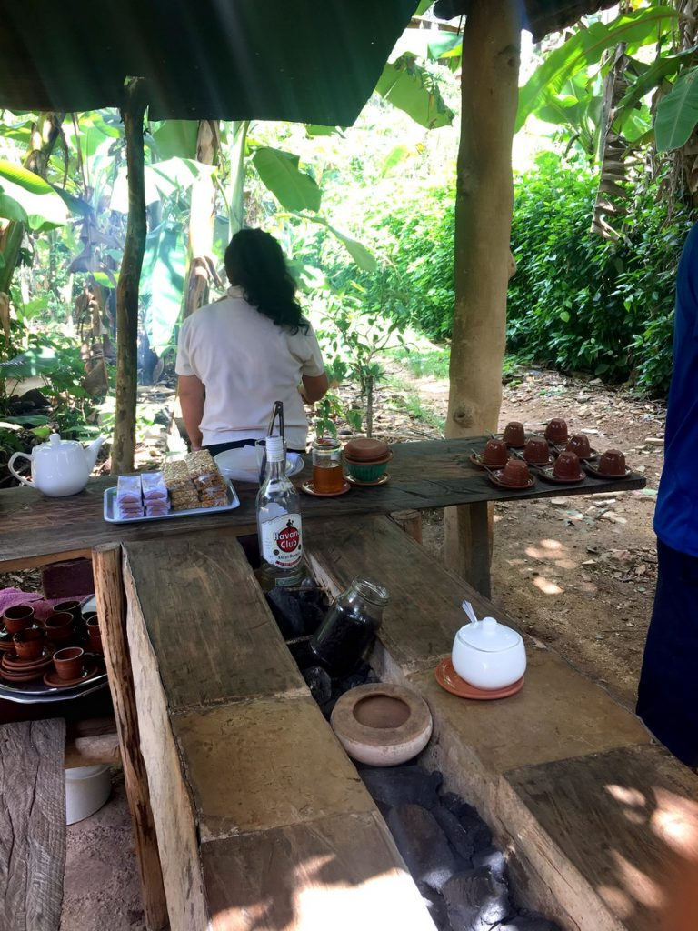 Explicaciones del proceso del café artesanal