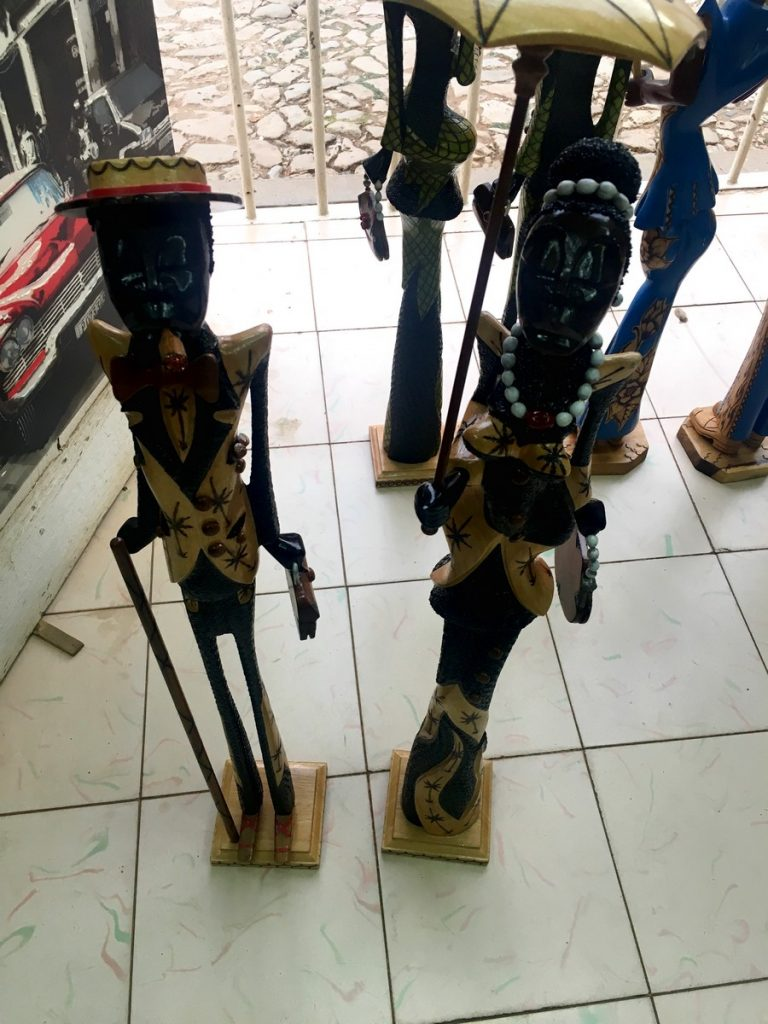 El souvenir de Cuba que compramos en Trinidad