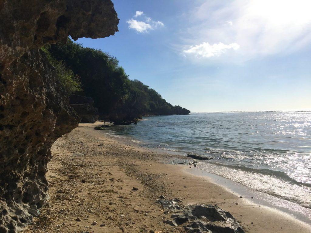 En Thomas Beach, la primera parada de nuestra ruta por las playas de Uluwatu