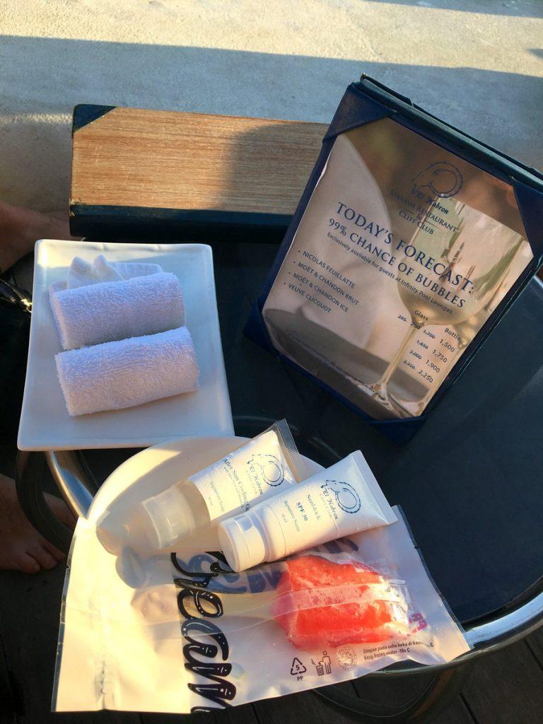Toallitas, cremas y heladito en El Kabron