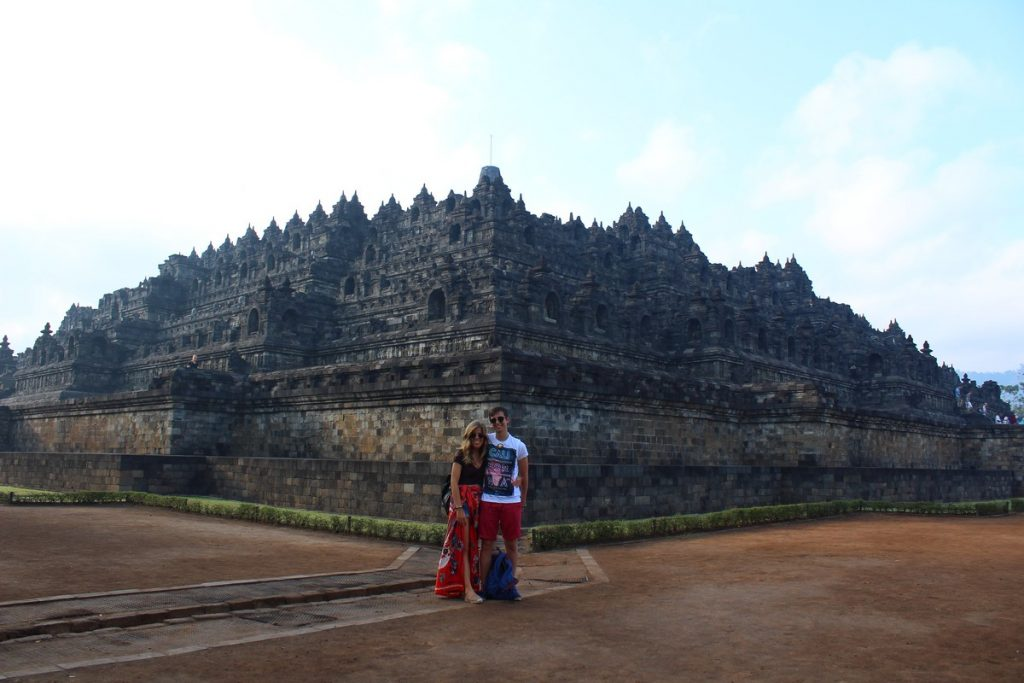 El Templo de Borobudur en Yogyakarta