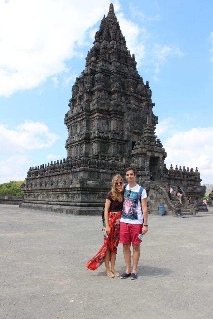 En Prambanan, el complejo hindú de Yogyakarta