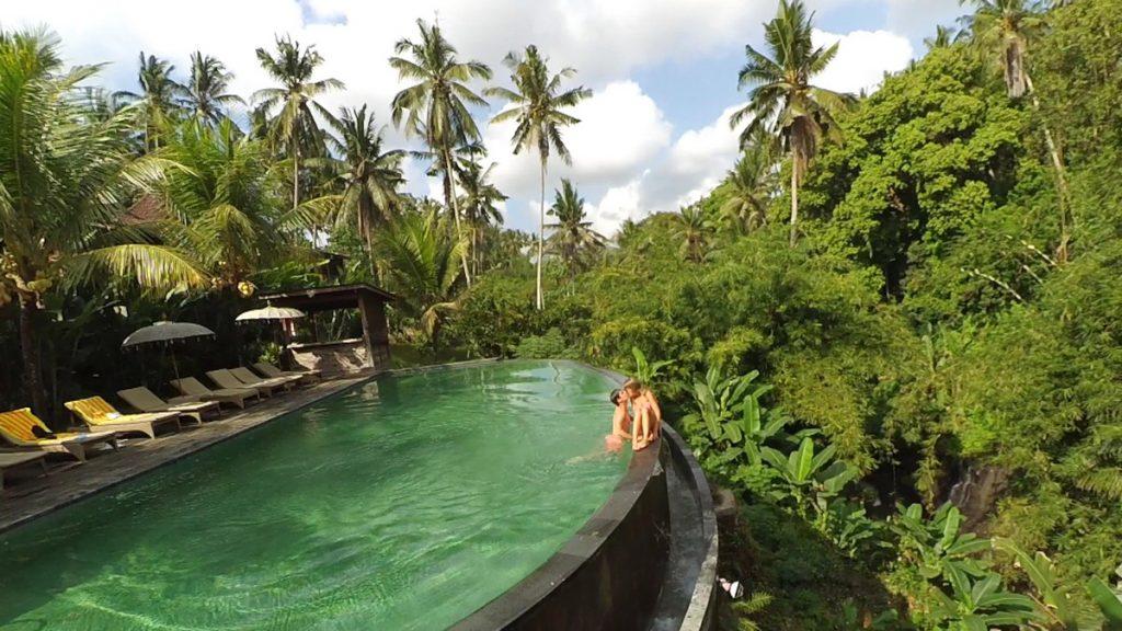 La increíble piscina de Petiwi Bisma 1, Ubud