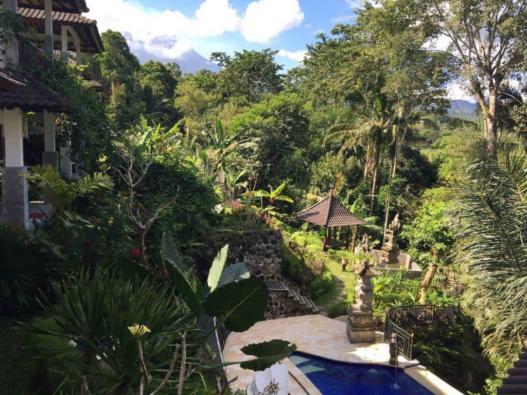 Las instalaciones del Sweet Escape, en el este de Bali