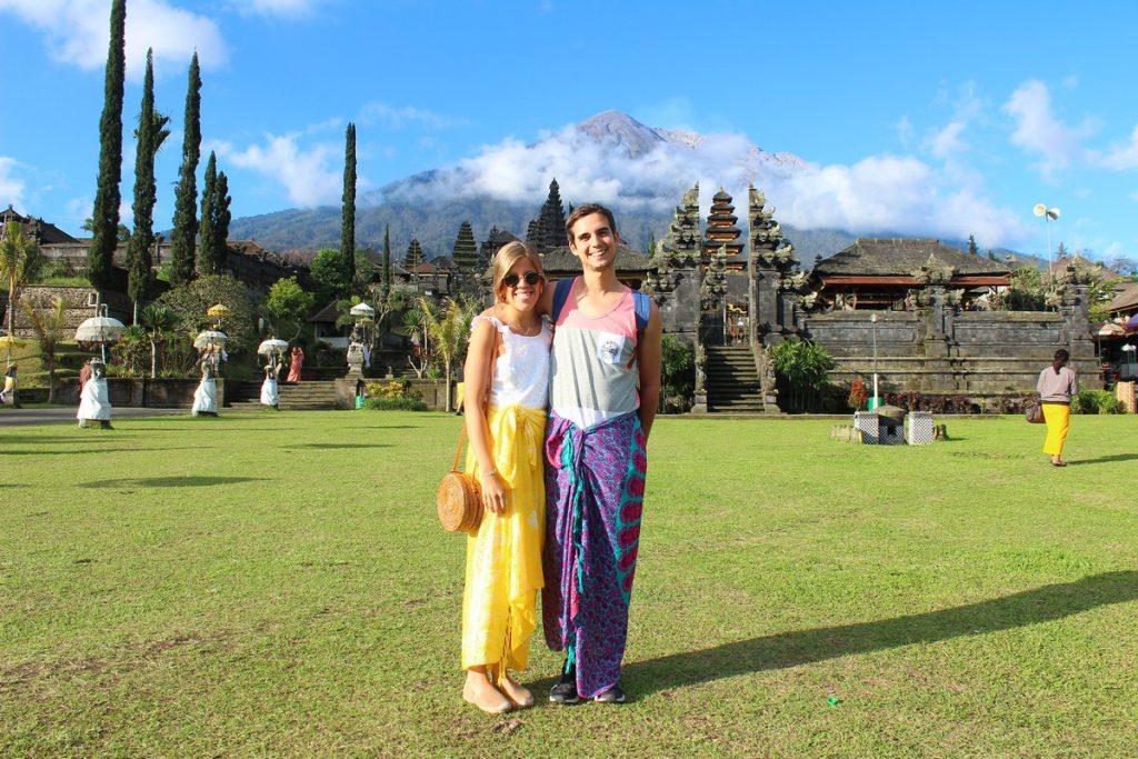En el Templo Madre de Bali