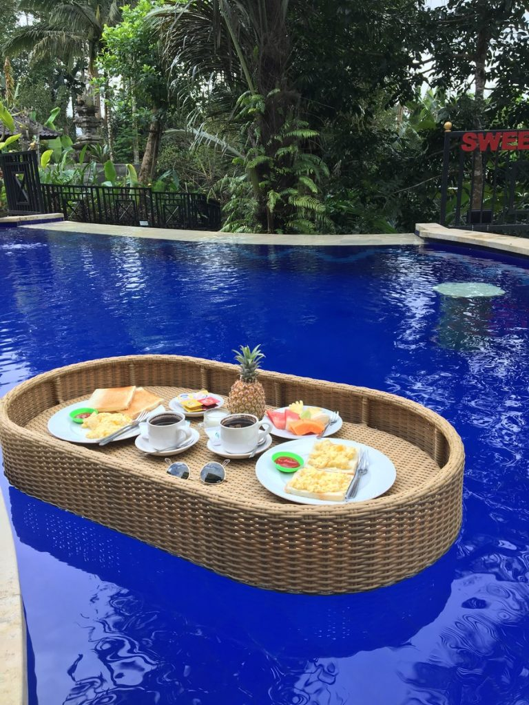 Floating breakfast en Sweet Escape