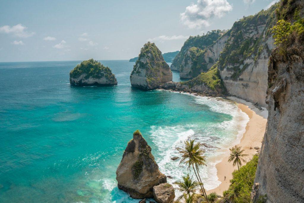 Las salvajes playas de Nusa Penida, Indonesia