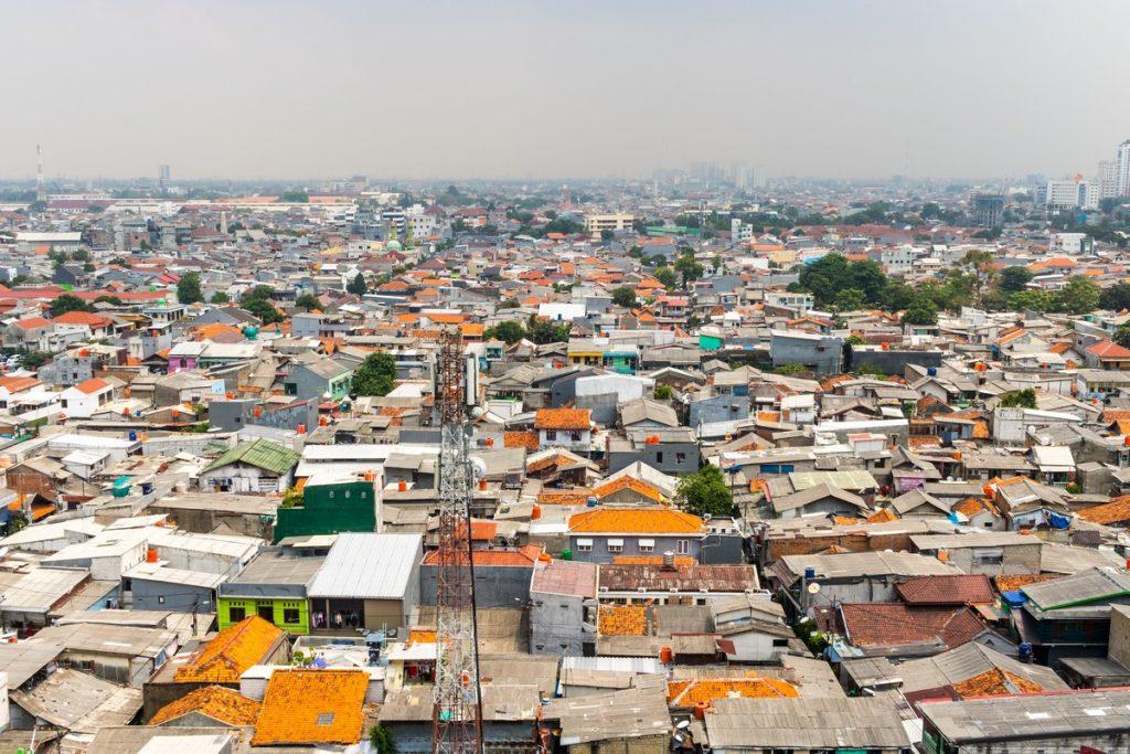 Los barrios más humildes de Yakarta