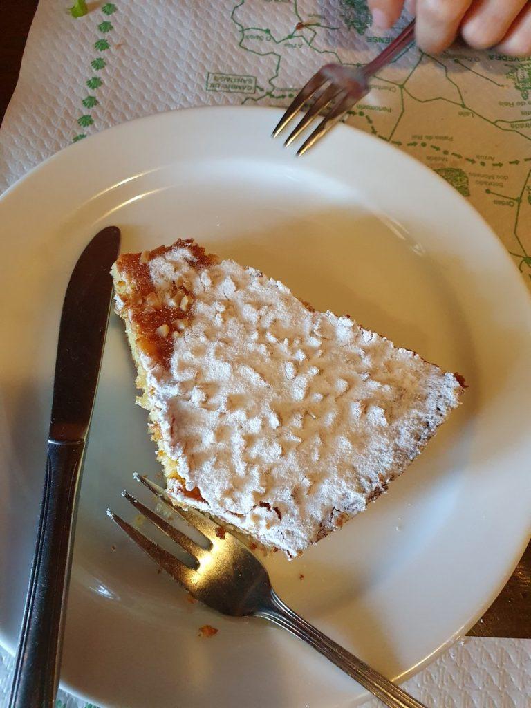 La tarta de Santiago de Pulpería a Nossa Terra